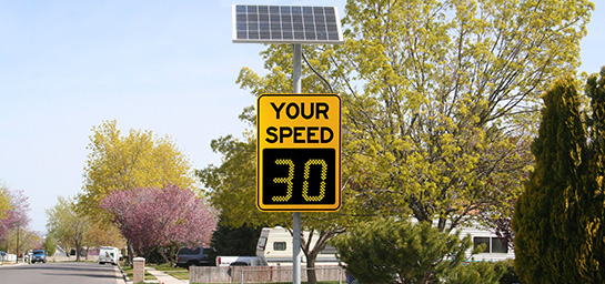 Radar Speed Signs image