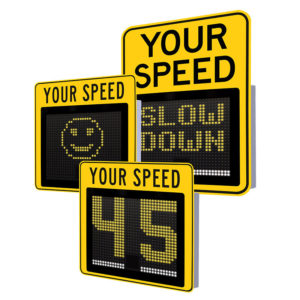 SafePace 650 Radar Sign