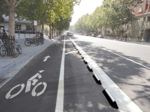 Cycle Lane street