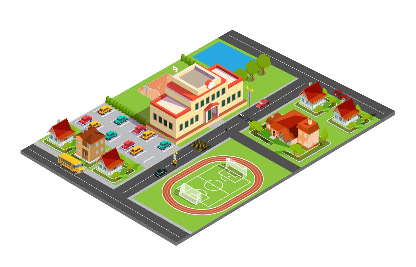 School Zone Interactive Map